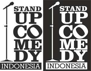 Stand Up Comedy Indonesia Logo Vector