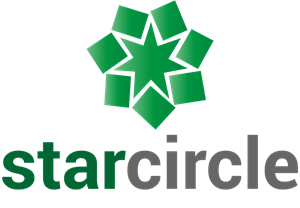 Star Circle Logo Vector