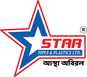 Star Pipes & Plastics Logo Vector