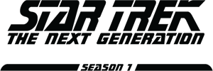 Star Trek The Next Generation Season 1 Logo Vector