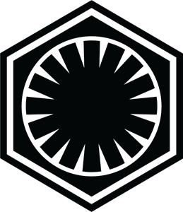 Star Wars First Order Logo Vector