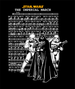 Star Wars - Imperial March Logo Vector