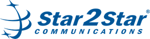 Star2Star Communications Logo Vector