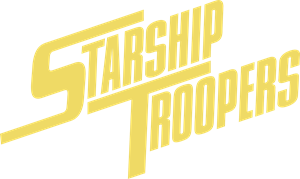 Starship Troopers Logo Vector
