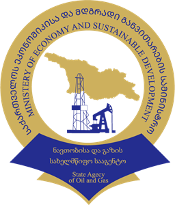 State Agency of Oil and Gas of Georgia Logo Vector