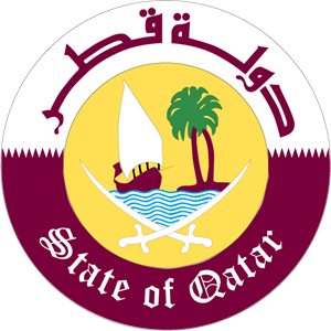 State of Qatar Logo Vector