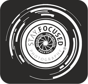 Stay.Focused Photography Cyprus Logo Vector