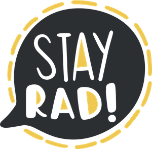 STAY RAD Logo Vector