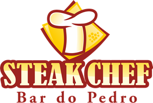 Steak Chef Bar do Pedro Logo Vector