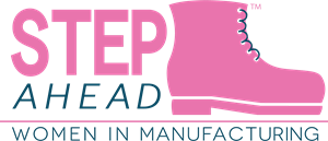 STEP Ahead Women in Manufacturing Logo Vector