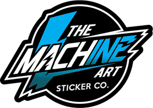 STICKER MACHINE ART Logo Vector