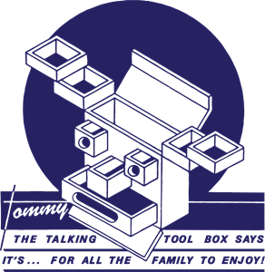 Stiff Records - Tommy the Talking Toolbox Logo Vector