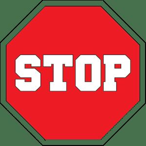 stop logo vectors free download rh seeklogo com stop sign mascot stop sign look left look right look left