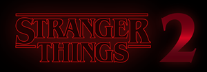 Stranger Things - Season 2 Logo Vector