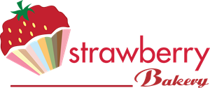 strawberry bakery Logo Vector