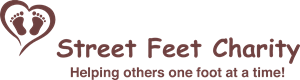 Street Feet Charity Logo Vector