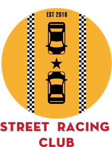 Street racing club taxi Logo Vector