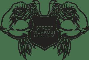 street workout kz logo vector