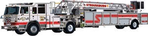 stroudsburg fire department Logo Vector