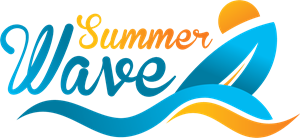 Summer Beach Logo Vector