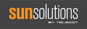 Sunsolutions by Telecon Logo Vector