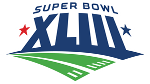 Super Bowl XLIII Logo Vector (.AI) Free Download