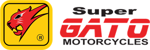 Super Gato Motorcycles Logo Vector