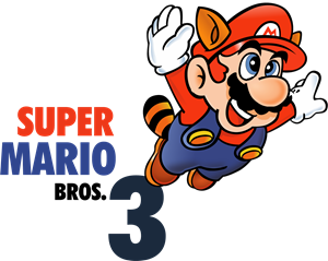 Super Mario Bros 3 Logo Vector