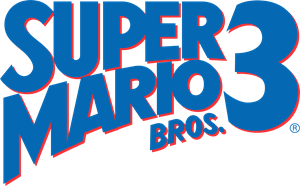 SUPER MARIO BROS. 3 Logo Vector