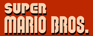 Super Mario Bros Logo Vector