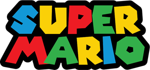 SUPER MARIO Logo Vector