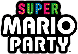 Super Mario Party Logo Vector