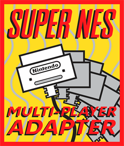 SUPER NES Multi-Player Adapter Logo Vector