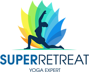 Super Retreat Logo Vector