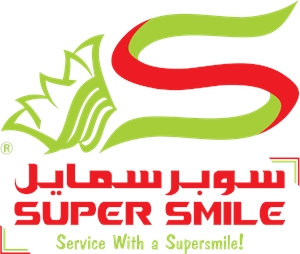 Super Smile General Cleaning Logo Vector