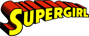 Supergirl Curved Logo Vector