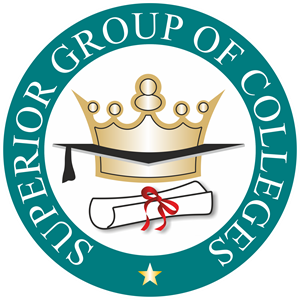 Superior Group of Colleges Logo Vector