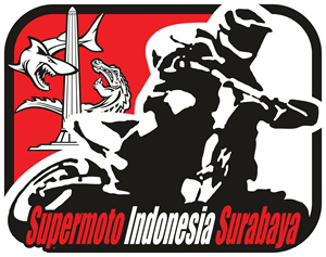 Supermoto Indonesia Surabaya Logo Vector