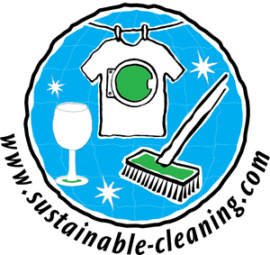 Sustainable Cleaning Logo Vector
