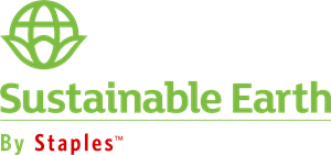 Sustainable Earth By Staples Logo Vector