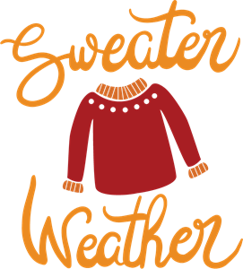 SWEATER WEATHER Logo Vector