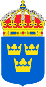 SWEDEN COAT OF ARMS Logo Vector