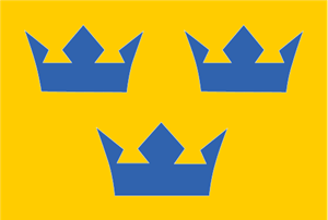 Sweden National Ice Hockey Team Emblem Logo Vector