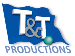 T&T . Productions Logo Vector