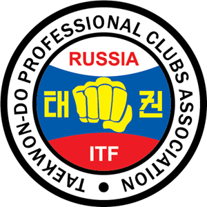 Taekwon-do Professional Clubs Association Russia Logo Vector