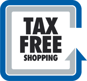 Tax Free Shopping Logo Vector