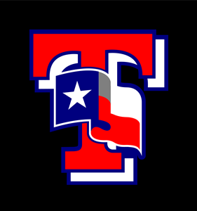 Texas Ranger T Flag Logo Vector