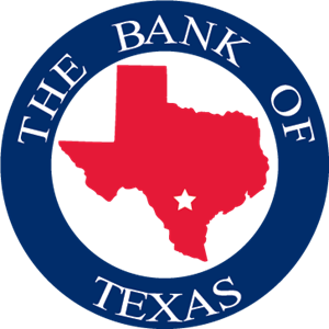 The Bank of Texas Logo Vector