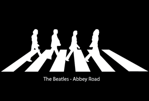 The Beatles AR Logo Vector