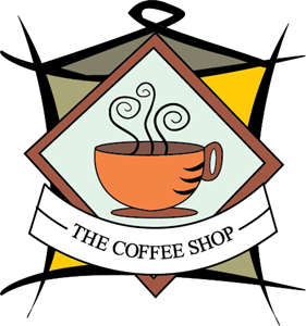 The Coffee Shop Logo Vector